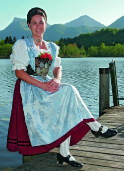 Lust auf Bayern: Trachten Geschichte und Tradition Chiemgauer Tanztracht