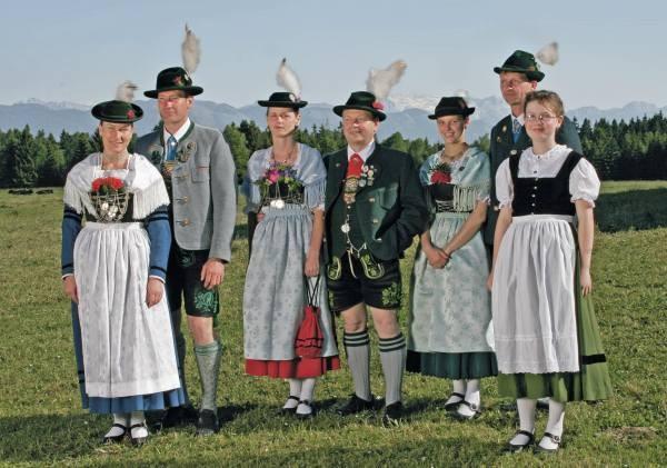 Lust auf Bayern: Trachten Geschichte und Tradition