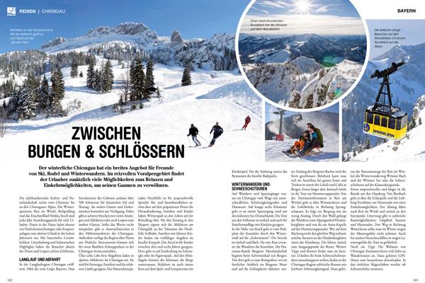 Lust auf Bayern 2015: Urlaub im Winter