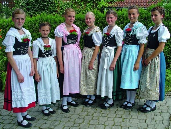 Lust auf Bayern: Trachten Geschichte und Tradition Jugendtanztrachten
